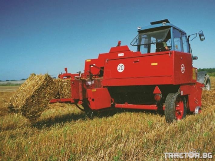 Сламопреси Балопреси UNIA FAMAROL Z-511 1 - Трактор БГ