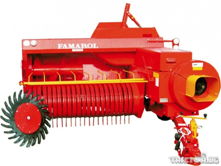 Сламопреси Балопреси UNIA FAMAROL Z-511 2 - Трактор БГ