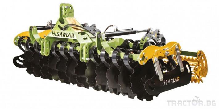 Брани Дискова брана HISARLAR 2 - Трактор БГ