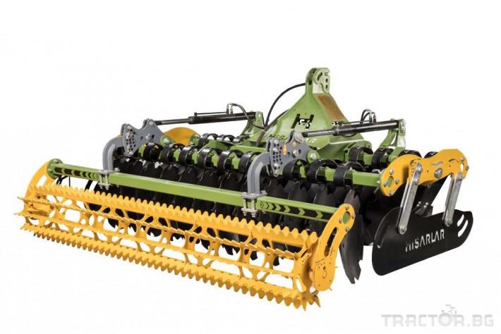Брани Дискова брана HISARLAR 1 - Трактор БГ