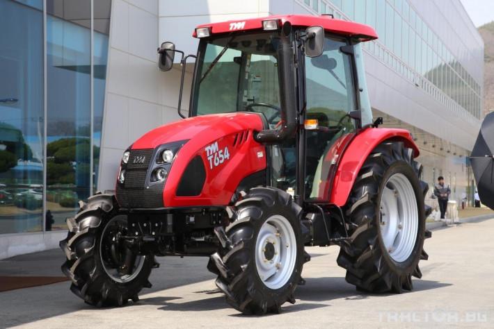 Трактори TYM T654 1 - Трактор БГ