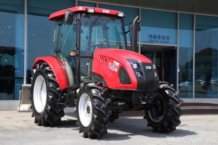 Трактори TYM T654 0 - Трактор БГ