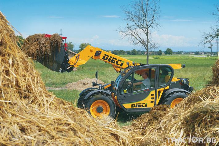 Телескопични товарачи Dieci Agri Farmer 30.7 3 - Трактор БГ