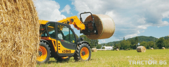Телескопични товарачи Dieci Agri Farmer 30.7 11 - Трактор БГ
