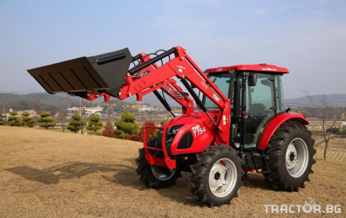Трактори TYM T654 7 - Трактор БГ