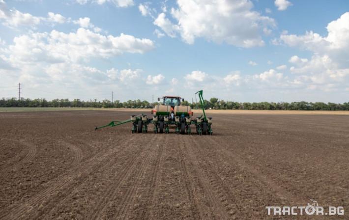 Сеялки 8 редова сгъваема ДИРЕКТНА сеялка Great Plains PL5500 2 - Трактор БГ