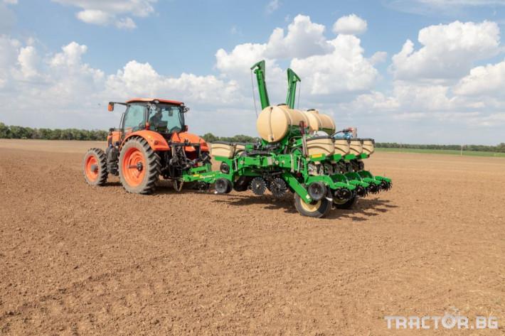 Сеялки 8 редова сгъваема ДИРЕКТНА сеялка Great Plains PL5500 1 - Трактор БГ